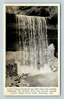 Madison IN, Clifty Falls, State Park, Gorge, Indiana, Vintage Postcard Z32