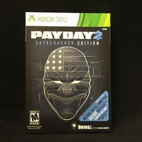 Payday 2: Safecracker Edition  (Xbox 360, 2014) Brand New / Factory Sealed