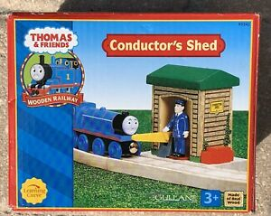 Thomas & Friends - Learning Curve- Wooden Conductor's Shed - NEW Thomas Train