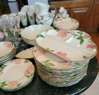 Franciscan Desert Rose USA 116 Pieces Many Expensive Items Excellent Condition