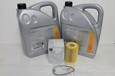 Genuine Mercedes-Benz C-Class E-Class 300/350 CDI Oil Filter & Engine Oil M642