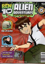 BEN 10 ALIEN ADVENTURES MAGAZINE--2009  ISSUE 15# HATCHETTE