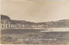 COLWELL BAY, CAMP & RGA IN DISTANCE OLD ISLE OF WIGHT POSTCARD (ref 1705/20/G7)