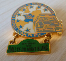 PIN'S RALLYE DU MONT BLANC TEAM DIAC MICHELIN RENAULT CLIO WILLIAMS BERAUDY