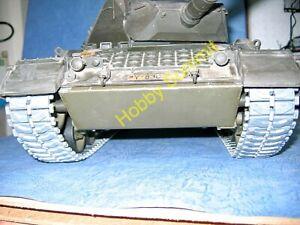 1/16 LEOPARD A4 / GEPARD FLAKPANZER T-84 Type METAL TRACKS Tamiya R/C StaticTank