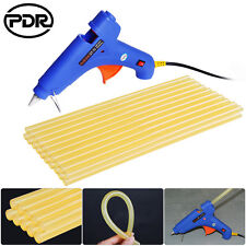 21pc PDR Tools Paintless Dent Removal Repair 100W Hot Melt Glue Gun Glue Sticks