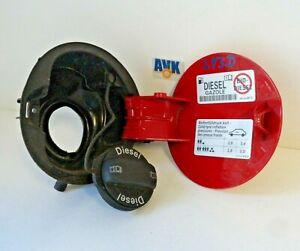 Tankklappe Tankdeckel 3C0010456A 1K0010497C rot LY3D VW Passat 3C