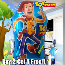 Toy Story Woody Buzz Birthday Party Balloons Balloon Super Shape 27 inches