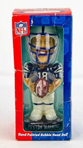 Genuine Hand Painted Bobble Head Doll NFL Indianapolis Colts Peyton Manning
