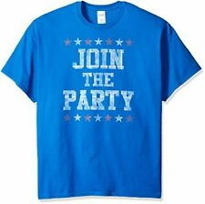 Mens Freeze Big & Tall Join The Party Election T Shirt Size 2 XLARGE New
