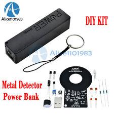 METAL Detector Elettronico sensore senza contatto Modulo FAI DA TE KIT CON SCATOLA BATTERIA