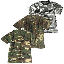 KINDER TARN T-SHIRT XS-XXL 3 Farben, US Army camouflage Shirt Kids Tarnshirt NEU