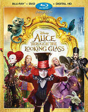 Alice Through the Looking Glass (Blu-ray Disc ONLY, 2016)
