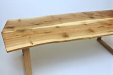 Rustic Table - Handmade Solid Walnut Wood