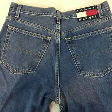 Tommy Hilfiger Relaxed fit 100% cotton 11/30 jeans with large logo