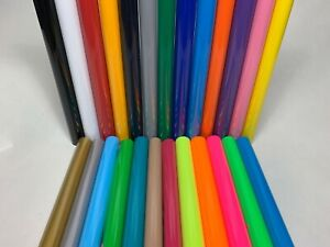 1m PU T-Shirt Heat Transfer Vinyl Heat Press From 23 Colors by Cutter Plotter