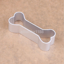 New Stainless Steel Dog Bone Shape Dough Biscuit Cake Cookie Cutter Tool AU