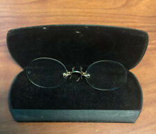 FITS-U Eyeglasses Pinch Prince Nez Gold/Gold Filled