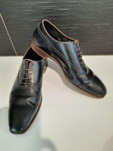 Crockett & Jones England  Mens 9.5E Cumberland Lace Up Leather Dress Business