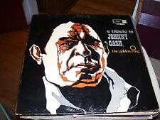 THE GOLDEN RING-A TRIBUTE TO JOHNNY CASH-LP-VG+-ARC RECORDS-STEREO