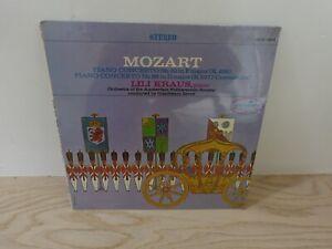 LILI KRAUS Piano MOZART Concerto 19 and 26 MONITOR MCS 2089 SEALED LP
