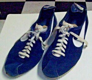 Vintage 1970s Nike Suede Runners - Made In Japan - AS IS