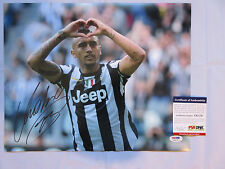 ARTURO VIDAL SIGNED 11X14 PHOTO PSA/DNA X42176 CHILE SOCCER JUVENTUS WORLD CUP