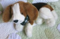 Gund Eddie Bauer Puppy Dog Beagle Hound White Brown Black Plush Stuffed Toy EUC
