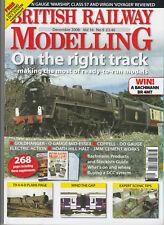 BRITISH RAILWAY MODELLING Magazine December 2008 - On The Right Track