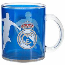 Real Madrid Glass Mug Blue Football Fanatics