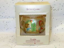 Hallmark 1984 Betsey Clark Glass Ball Ornament In Box
