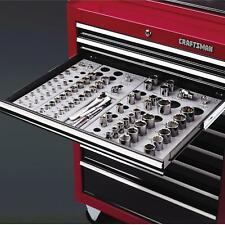 Craftsman Wrench Socket Organizer Set 6 Tray Divider Holds 195 Storage Toolbox