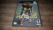 METROID PRIME 1 BLACK LABEL NINTENDO GAMECUBE BRAND NEW SEALED RARE!