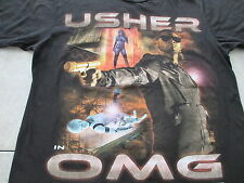 Usher Omg Tour Oh My Gosh I Want It All Black T Shirt Size M Medium L Large