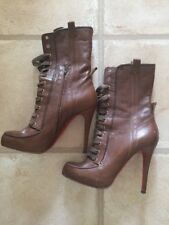 Christian Louboutin Avedere Military Boots Size 6 39