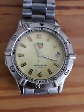 tag heuer watch? with yellow face