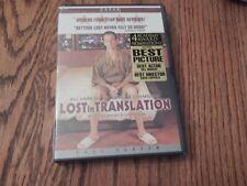 """Lost in Translation� w/Bill Murray & Scarlett Johansson; Comedy/Dvd/New"