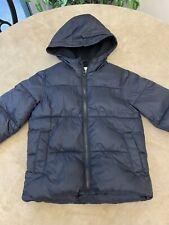 Old Navy Kids Size 5 XS Black Puffy Winter Coat Jacket Warm & Cozy