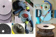 """ECOEDGE & Wet Polisher Granite Concrete 1 1/4"""" Full Bullnose Router Bit stone"""