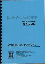 "Leyland ""154"" Tractor Workshop Manual"