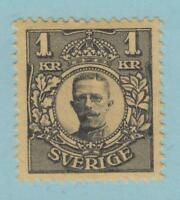 SWEDEN SC 94 - 1 KR - MINT HINGED OG * NO FAULTS EXTRA FINE !
