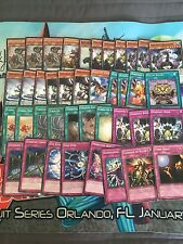 End of the year price !Yugioh dinomist rabbit 40 card deck!