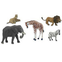 NEW Woodland SP4346 Scene Setters African Wildlife FREE US SHIP