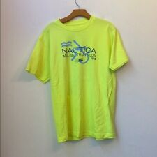 NAUTICA MALIBU TRIATHLON 2013 EQUINOX YELLOW SHIRT Size M