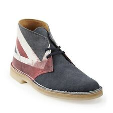 Clarks Original ** X Desert Boots ** Limited Edition ** UNION JACK ** UK 9/8.5
