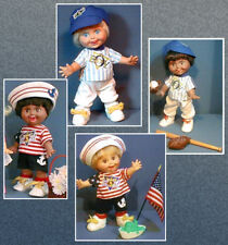Sewing Pattern for Baby Face BOY DOLLS Galoob ** PRILLYCHARMIN EXCLUSIVE