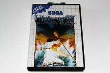 ULTIMA IV - SEGA MASTER SYSTEM - AVEC NOTICE - WITH INSTRUCTION MANUAL