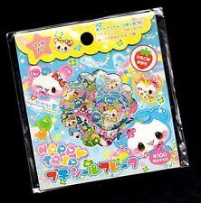 Rare Happy Trip Travel Panda Kamio Japan Kawaii Sticker Sack stickers flakes