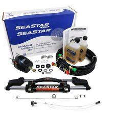 SeaStar Teleflex Marine HK6400A-3 + HO5116 16' Hoses Hydraulic Outboard Steering