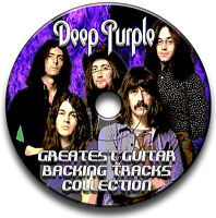 50 DEEP PURPLE STYLE MP3 ROCK GUITAR BACKING JAM TRACKS CD LIBRARY COLLECTION